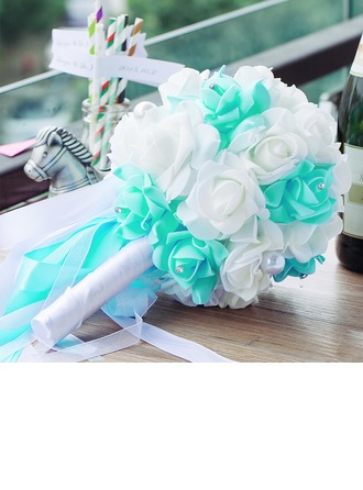 Eye-catching PE/Rhinestone Bridal Bouquets