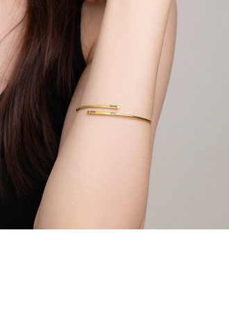Custom Cuff Bangles & Cuffs - Valentines Gifts For Her