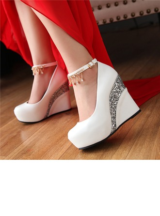 Women's Leatherette Wedge Heel
