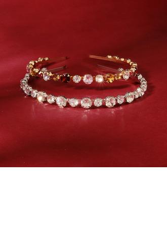 Damer Klassisk stil Rhinestone Tiaraer med Rhinestone (Selges i ett stykke)