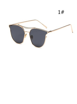 UV400 Chic Flat Brow Sun Glasses