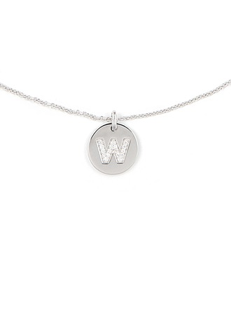 Personalized Silver Initial Letter Initial Necklace For Couple For Girlfriend For Boyfriend