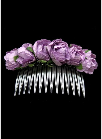 Alloy/Paper Combs & Barrettes