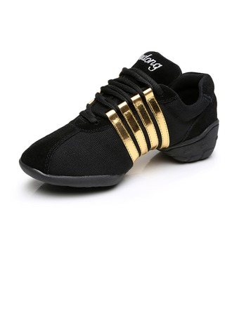 Women's Suede Sneakers Sneakers Dance Shoes