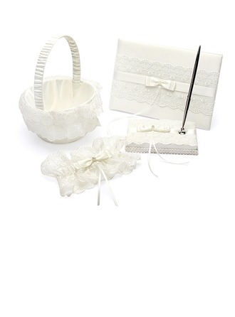 Beautiful With Ribbons/Bow Wedding Collection Set