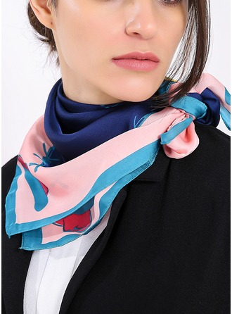 Retro/Vintage Light Weight/fashion Silk Square scarf