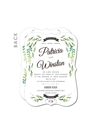 Magic Vines Wedding Cards