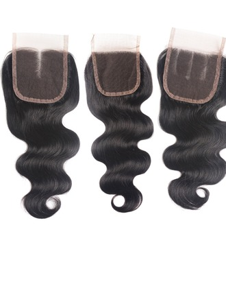 4A Non remy Body Human Hair Closure (Sold in a single piece) 35g