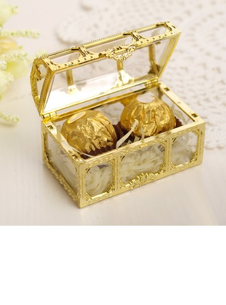Classic/Lovely Cubic Plastic Favor Boxes & Containers/Candy Jars and Bottles