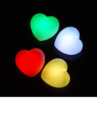 Color changing Heart Shaped LED Lights