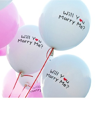 """Will You Marry Me"" Balloon"