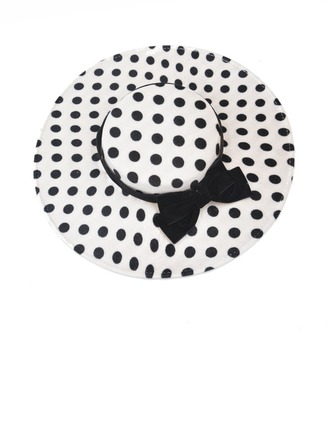 Ladies' Hottest/Vintage Fabric With Bowknot Bowler/Cloche Hats/Kentucky Derby Hats