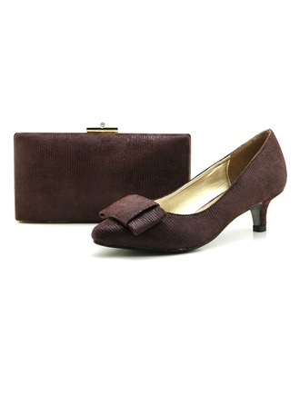 Delicate Autumn/Winter Fabric Shoes & Matching Bags