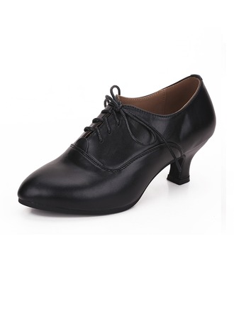 Women's Real Leather Practice Dance Shoes