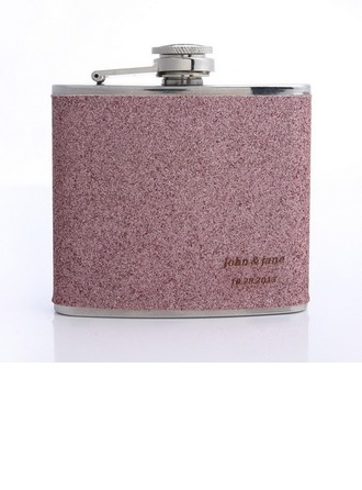 Bridesmaid Gifts - Personalized Classic Cute Stainless Steel Flask