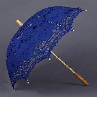 Charming Cotton Wedding Umbrellas