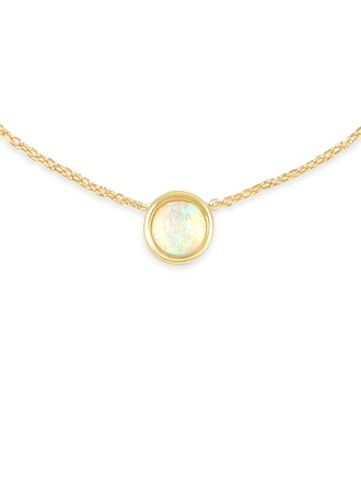 Silver Pearl/Beaded Circle Pearl Necklace For Women For Mother/Mom For Girlfriend
