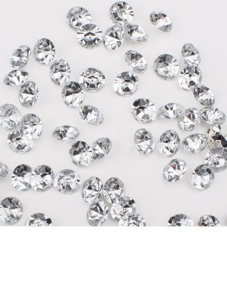"2/5""(1cm) Colorful Diamond Pieces"