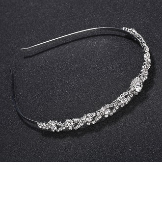 Ladies Unique Alloy Tiaras With Rhinestone/Crystal
