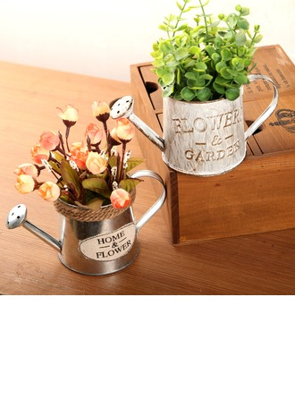 Novelty Iron Table Vases