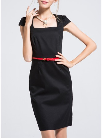 Polyester/Cotton With Stitching Dress