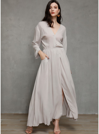 Polyester med Solid Maxi Kle