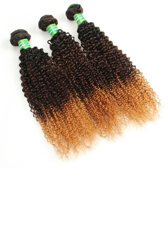 5A Virgin/remy Curly Mid-Length Long Human Hair Hair Weaves/Weft Hair Extensions (Sold in a single piece) 100g