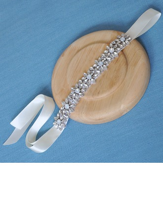 Ladies Special Satin Headbands With Rhinestone (Sold in single piece)