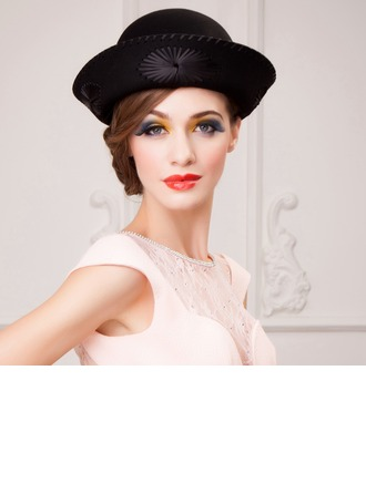 Ladies' Fashion Autumn/Winter With Bowler/Cloche Hat