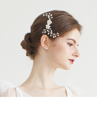 Ladies Classic Alloy/Imitation Pearls Hairpins/Combs & Barrettes With Venetian Pearl