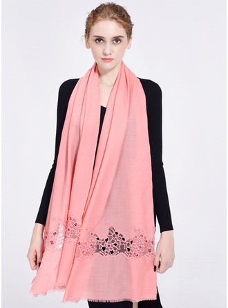 Solid Color Oversized/Shawls/attractive Wool Scarf