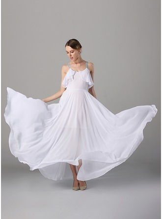 Chiffon With Stitching Maxi Dress ( Dress Length is center back length)