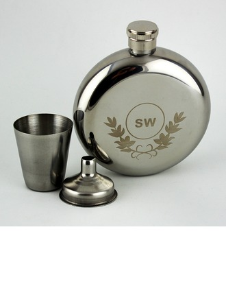 Personalized Stainless Steel Flask (10 letters or less)