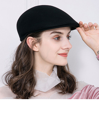 Ladies' Elegant Wool Beret Hats