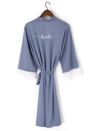 Non-personalized Lace Bride Lace Robes Embroidered Robes