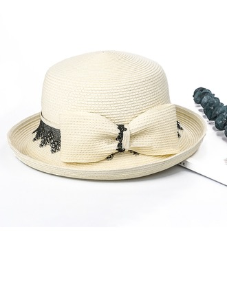 Ladies' Fashion/Special/Simple/Fancy Polyester With Bowknot Beach/Sun Hats