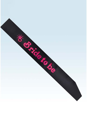 Beautiful Satin Hen Party Sash