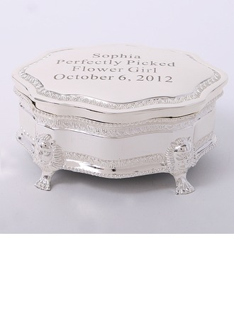 Personalized Delicate Zinc Alloy Jewelry Holders