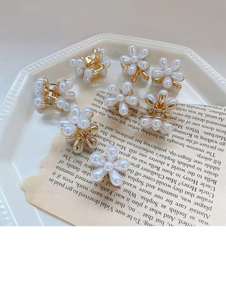 Beautiful Alloy/Pearls Tiaras/Hairpins With Pearl