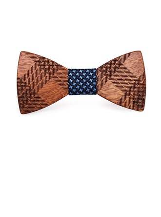 Style Classique Modern Style Bois Bow Tie