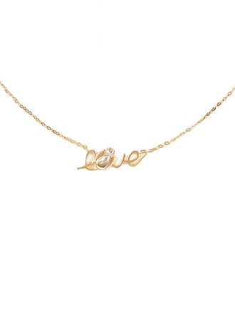 Silver LOVE Meaning Pendant Necklace For Mother/Mom For Girlfriend