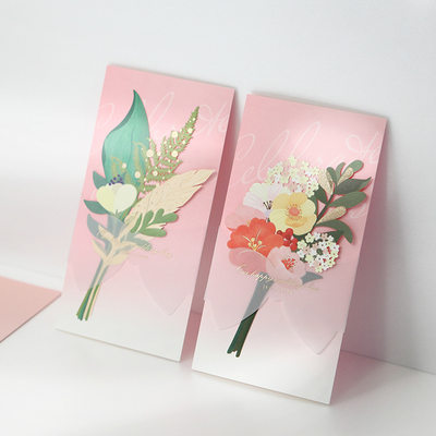 Personalized Classic Style/Modern Style Side Fold Invitation Cards/Birthday Cards/Response Cards/Thank You Cards/Greeting Cards
