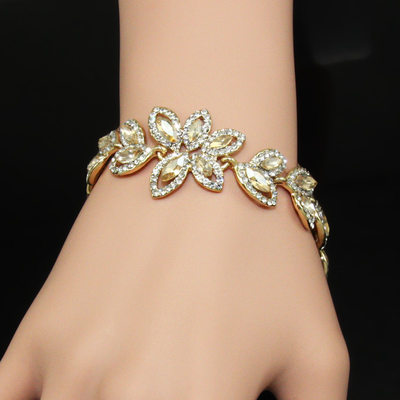 Beautiful Alloy/Rhinestones Ladies' Bracelets