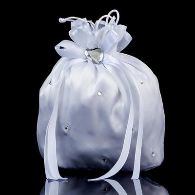 Charming Satin/Crystal/ Rhinestone Bridal Purse/Flower Girl Bags