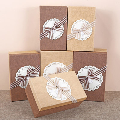 Bridesmaid Gifts - Shiny Paper Gift Box/Bag