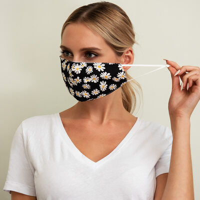 Non-Medical Cotton Face Masks With Adjustable Loop