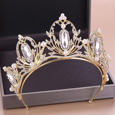 Beautiful Rhinestone/Alloy Tiaras (Sold in single piece)
