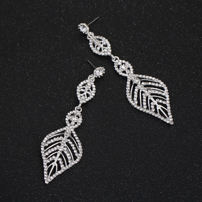 Unique Alloy/Rhinestones Ladies' Earrings