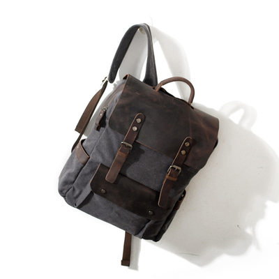 Groomsmen Gifts - Classic Canvas Backpack