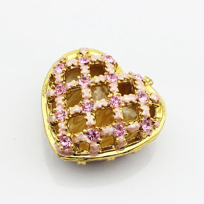 Bride Gifts - Eye-catching Alloy Jewelry Box